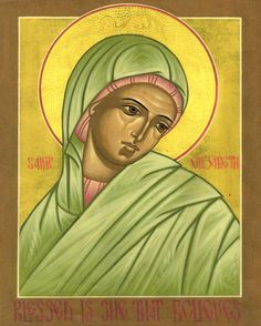 Icons by the Hand of Deacon Matthew Garrett - Icons of the Saints – E