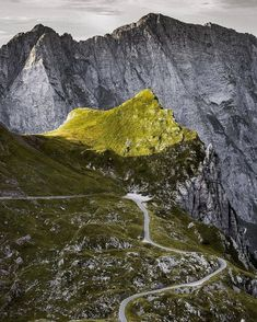 The higest road in Slovenia takes you to the Mangart Saddle. ⛰ The views are worth every turn. Do you agree?