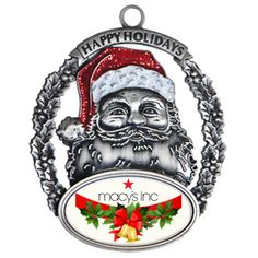 Try to harp on the festive splendor with Promotional Express Santa holiday ornaments! #promotionalgifts #customornaments #xmasgiveaways
