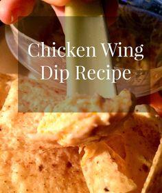 Chicken Wing Dip http://www.westernnewyorker.org/2016/12/recipe-chicken-wing-dip.html #NothingHiddenHere #ad #notinOURranch