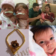 """This is probably going to be one of the most meaningful posts we'll have and thank you Melanie Lynn Lalumiere  for sharing with us your inspiring story of faith and love!  We wish you and your beautiful family years of blessings and love! """"My husband got me one of these as a """"push gift"""" after delivering our twin girls. It was such an amazing gift. The blooming flower was very symbolic to the blooming of our girls' lives. The gift and his thoughtfulness behind it made me cry in the moment…"""