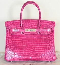Hermes Satchel in Hot Pink Fuchsia