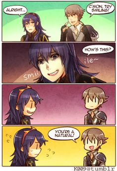 You can do it Lucina /// Fire Emblem : Awakening
