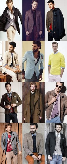 STYLE TIPS:  Men's Basic Layering Examples - Go thin inner layers to thick outer layers.  ---> FOLLOW US ON PINTEREST for Style Tips, Men's Basics,  Men's Essentials on anything, OUR SALES etc... ~ VujuWear