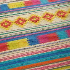 Tapijt Mexico veelkleurig 140 x 200