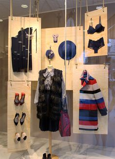 STEFFL Department Store Vienna - Fall Window