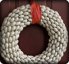 Awesome Acorn Wreath; Thrifty and SOOOO Cute — Saved By Love Creations