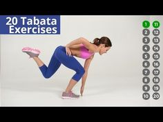 ▶ 10 Minute Tabata - featuring 20 different exercises - YouTube