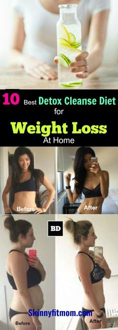 How to make detox smoothies. Do detox smoothies help lose weight? Learn which ingredients help you detox and lose weight without starving yourself. Weight Loss Detox, Diet Plans To Lose Weight, Weight Loss Smoothies, Losing Weight, Best Weight Loss Cleanse, Full Body Detox, Detox Your Body, Detox Plan, Colon Cleanse Before And After