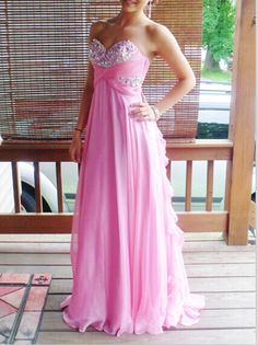 Charming Pink Sparke Beadings Sweetheart Prom Dresses 2015, Sparke Prom Dresses, Fushica Prom Gown, Evening Dresses