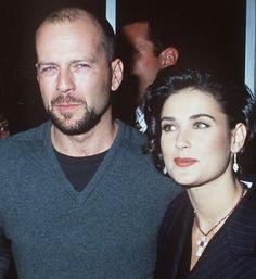 Demi Moore and Bruce Willis Emma Heming, Demi Moore, Bruce Willis, Top Hollywood Actors, Hollywood Stars, Angelina Jolie, Divorce, Max Payne, Olivia Benson