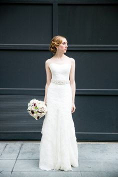 Vintage loving bride: http://www.stylemepretty.com/little-black-book-blog/2015/01/15/elegant-wedding-at-san-franciscos-palace-hotel/   Photography: Larissa Cleveland - http://www.larissacleveland.com/
