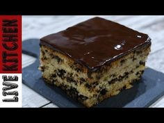 Hazelnut and chocolate cake - HQ Recipes Syrup Cake, Cooking Cake, Food Decoration, Happy Foods, Desert Recipes, Cake Cookies, Quick Easy Meals, Chocolate Cake, Sweet Tooth