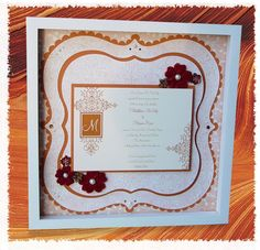 CUTE CUTE CUTE  Creative Charms - embellish, enliven, enjoy: Fall Wedding Invitation Collage