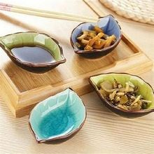 Cheap plate japanese, Buy Quality sushi dishes directly from China ceramic plate Suppliers: Creative Handcraft Leaves Ceramic Plates Japanese Sushi Dishes Snacks Kitchen Vinegar Seasoning Sauce China Dinnerware Slab Pottery, Pottery Bowls, Ceramic Pottery, Ceramic Plates, Ceramic Art, Glazed Ceramic, Sushi Dishes, Sushi Plate, Kitchens