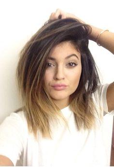 Hair cut & ombré colour