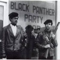 Black Panther Party leaders Bobby Black and Huey Newton called for an end to police brutality in black neighborhoods. The Black Panthers provided many free services, such as breakfasts for kids, rides to prisons for family visits with inmates, classes, and sickle-cell testing.