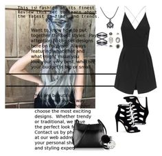 """""""Untitled #64"""" by natia-22 ❤ liked on Polyvore featuring Topshop, Eva Fehren and Kara"""