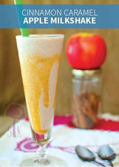 Cinnamon Caramel Apple Milkshakes are a delicious fruity treat full of tasty fall flavors. This is a quick and easy recipe you can make with your kids on the weekend or for their upcoming birthday party!
