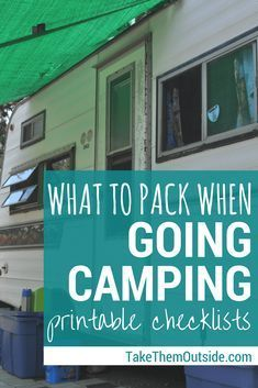 Simplify your family camping - want the lazy-mom camping checklist? - Get these printable camping checklists for your next family camping trip Rv Camping Checklist, Camping Packing, Camping List, Camping Essentials, Camping Meals, Family Camping, Packing Lists, Packing Checklist, Camping Places