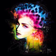 Pop art Madonna