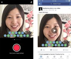 Facebook on Monday began introducing another new video feature for iOS users, this time with birthdays in mind.