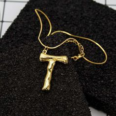 Statement Pendant Gold Necklace 26 Letters Charm Chain Sister Necklace Fashion Jewelry for Women is designer, more fashion necklaces for women sell at a wholesale price. Necklace Extender, Necklace Sizes, Opal Necklace, Necklace Lengths, Drop Earrings, Letter Pendant Necklace, Letter Pendants, Initial Necklace, Fashion Jewelry Necklaces