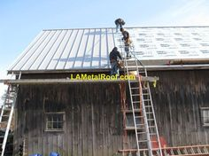 How to DIY a standing seam roof