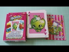 Shopkins Playing Cards Review Dollar Tree - http://www.carryhaulwell.com/2016/05/shopkins-playing-cards-review-dollar-tree/ - cheap, dollar tree, playing cards, product, review, shopkins
