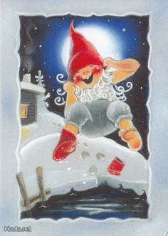 My collection. Kaarina Toivanen - Юлия К - Picasa Web Albums Christmas 2019, Christmas Crafts, My Collection, Christmas Pictures, Xmas Cards, Faeries, Elves, Vintage Christmas, Illustrators