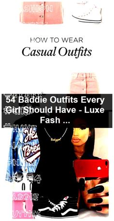 Baddie Outfits Every Girl Should Have - Luxe Fashion New Trends 54 Baddie Outfits Every Girl Should Have - Luxe Fashion New Trends, 54 Baddie Outfits Every Girl Should Have - Luxe Fashion New Trends, Casual Wear, Casual Outfits, Fashion Outfits, Every Girl, New Trends, Baddies, How To Wear, Casual Clothes, Casual Clothes