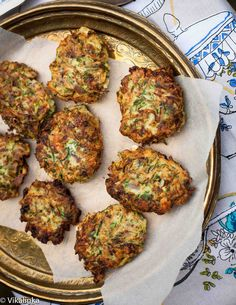 Feta and Zucchini Fritters