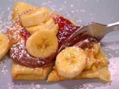 Sweet Crepes recipe from Dave Lieberman via Food Network