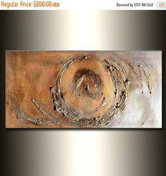 Original Gold und Silber Metallic von newwaveartgallery auf Etsy