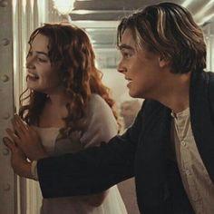 "Rose- ""I think he was"". Leonardo Dicaprio Kate Winslet, Young Leonardo Dicaprio, Leonardo And Kate, Titanic Photos, Leo And Kate, Jack Dawson, Titanic Movie, Celebrity Crush, Good Movies"