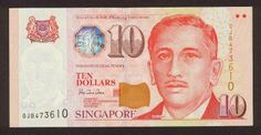Singapore banknotes 10 Dollars banknote Portrait Series Singapore dollar, Singapore banknotes, Singapore paper money, Singapore bank notes, Singapore dollar bills - world banknotes money currency pictures gallery. Singapore School, Singapore City, Blockchain, Forex Trading News, Singapore Dollar, Legal Tender, Dollar Coin, Dollar Bills, E 10