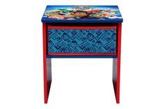 Table de chevet Paw PatrolRouge et bleu