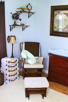 World Traveler or Old World Theme for Nursery  Crafty Hobby House