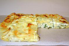 Пирог из лаваша с сыром. творогом, зеленью