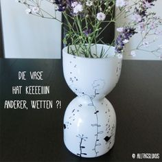 Ikea-Recycling – ausgetobt an meiner Vase - UPCYCLE ME Ikea, Recycling, Good Cause, Designer, Planter Pots, Vase, Projects, Crafts, Ad Home