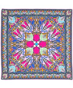 Pink Liberty London New Ianthe Silk Scarf | Accessories | Liberty.co.uk