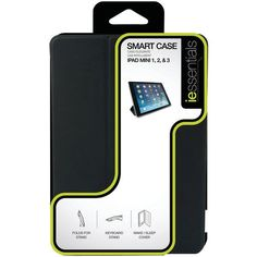 IESSENTIALS IPADM-SMART-BK iPad mini(TM) Smart Case (Black)