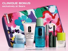 The Fall Clinique bonus is going on now at Sears CA. Yours with any $31 Clinique purchase. http://clinique-bonus.com/canada/
