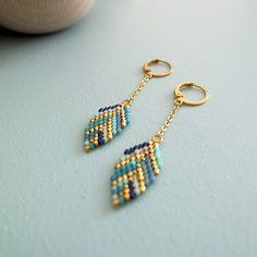 Le produit Boucles d'oreille petites plumes tissées en perles de verre Japonaises est vendu par My-French-Touch dans notre boutique Tictail. Tictail vous permet de créer gratuitement en ligne un shop de toute beauté sur tictail.com