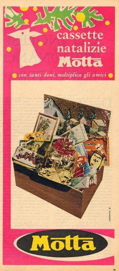 """GENERAZIONI e """"PICK-UP"""": pubblicità - MOTTA (1960)"""