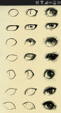 How to draw cartoon eyes and face - how to draw people - . - How to draw cartoon eyes and face – how to draw people – – - Eye Drawing Tutorials, Drawing Techniques, Drawing Tips, Drawing Ideas, Drawing Stuff, Pencil Art Drawings, Art Drawings Sketches, Easy Drawings, Drawings Of Men
