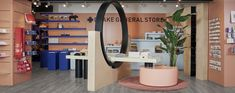 Retail shop within Toronto's Eaton Center for the iconic Drake General Store Display Design, Retail Shop, General Store, Drake, Environment, Loft, Interior Design, Furniture, Home Decor