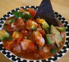 Shrimp & Avocado Salsa photo by Kathy Miller