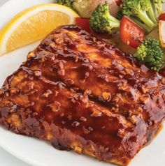 Asian Barbecue Glazed Salmon is a great way to get non-fish eaters to try it - especially if they already love Asian flavors.