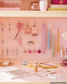 hello there pink peg board...i luv you ;) ;)